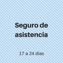 seguro Asistencia 17 a 24 días