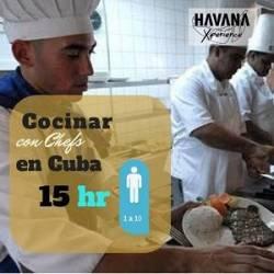 Curso de cocina con chef 15h
