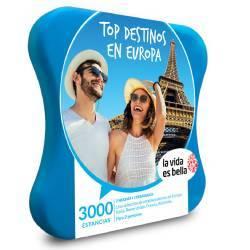 Top destinos en Europa