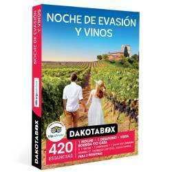 Noche de evasión y vinos